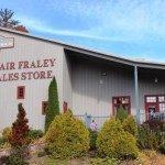 Blair Fraley Sales Store, largest thrift store in the High Country.