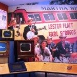 Exhibit of Earl's days with Lester Flatt. Photo courtesy of Phillip Lane.