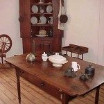 View colonial living in the 1779 home of Captain Robert Cleveland during your visit to the Wilkes Heritage Museum.