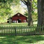 Carson House barn.