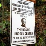 Visitation of Lincoln birth site is by appointment only.Credit Stewart O'Shields