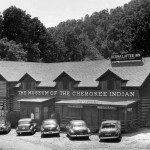 The Cherokee Museum, located in downtown Cherokee, prior to moving to its present facility. Circa 1950.