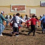 Dancing at Cherokee Heritage Festival.
