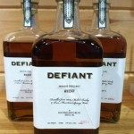 Bottles of Defiant Whisky