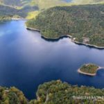 Aerial of Nantahala Lake. Photo by  Eric Haggart.