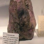 Large Corundum from Corundum Hill Mine  Photo credit: Franklin Chamber of Commerce