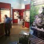 Exhibit from How The West Was Won: Trains and the Transformation of Western North Carolina.""