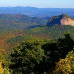 Looking Glass Rock, photo courtesy of RomanticAsheville.com Travel Guide.