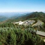 View from Mount Mitchell's peak. Photo by NC Parks.