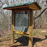 Bartram Trail Kiosk at Wayah Bald