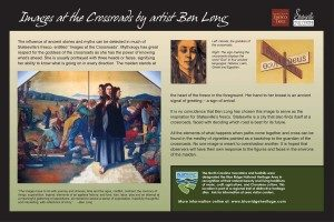 The Crossroads - Ben Long Sign
