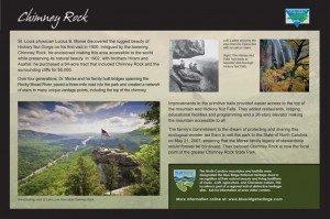 Chimney Rock Sign