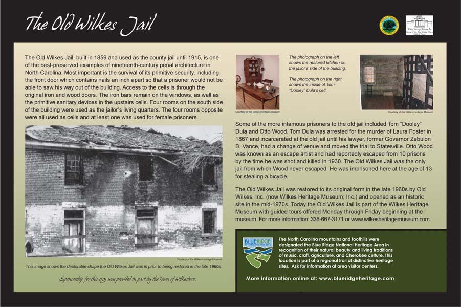 Old Wilkes Jail