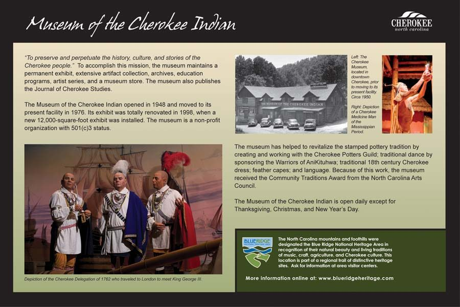Museum Of The Cherokee Indian Blue Ridge Heritage Trail