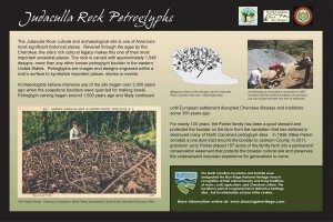 Judaculla Rock Petroglyphs Sign