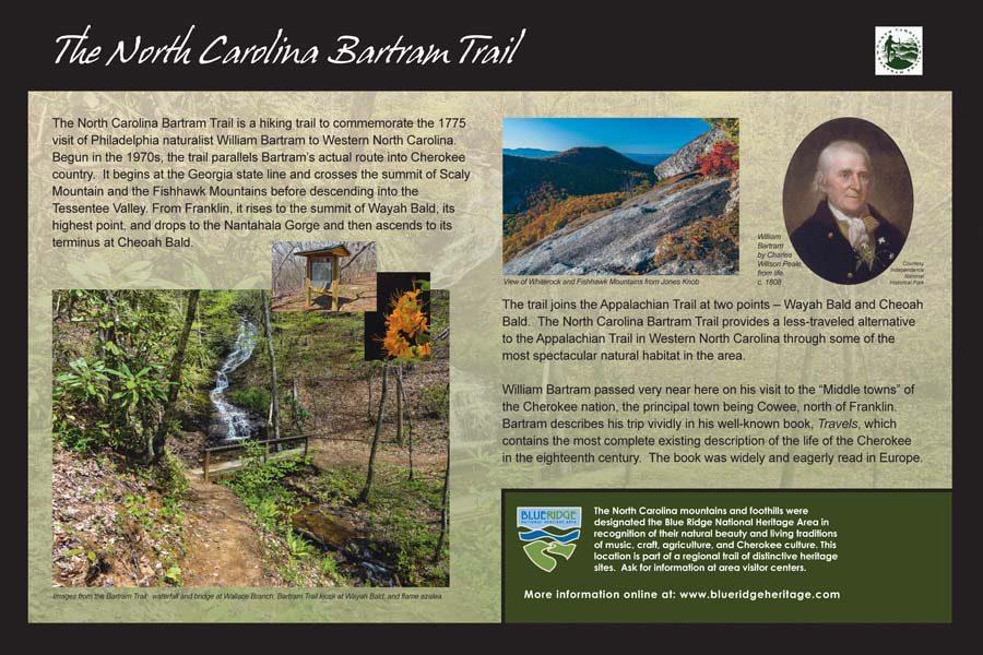 NC Bartram Trail Sign