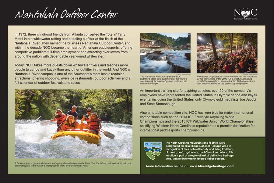 Nantahala Outdoor Center Sign
