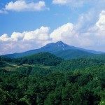 Grandfather Mountain in spring.
