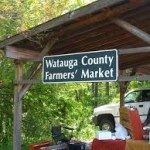 Farmers Market on grounds of Hickory Ridge.