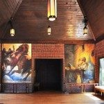 Frescoes in the Common Area of St. Paul's Episcopal Church.