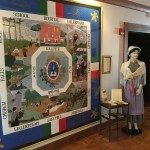 Quilt depicts the Waldensian story.