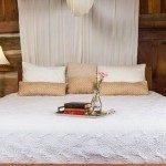 Bedroom in Loom House.