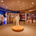 Statue of Earl inside the museum. Photo courtesy of McNeilly Photography.