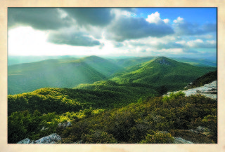 Linville Gorge, Brown Mountain Overlook