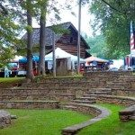Music and craft festivals on the grounds at Mountain Gateway Museum.