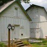 Farm outbuildings. Photo courtesy RomanticAsheville.com