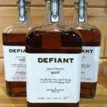 Bottles of Defiant Whisky