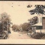 Downtown Fletcher ca. 1900. Photo courtesy NC Archives.