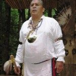 Cherokee interpreters share the rich history of the tribe at the Oconaluftee Indian Village.