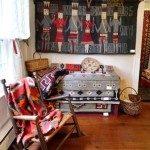 Native American Room in Museum of North Carolina Handicrafts.