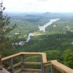 View from Pulpit Rock Stairs. Photo by Mary Jaeger-Gale.