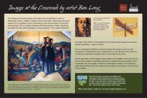 The Crossroads - Ben Long Sign