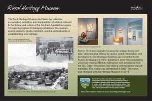 Rural Heritage Museum Sign