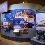 Exhibit in park visitor center